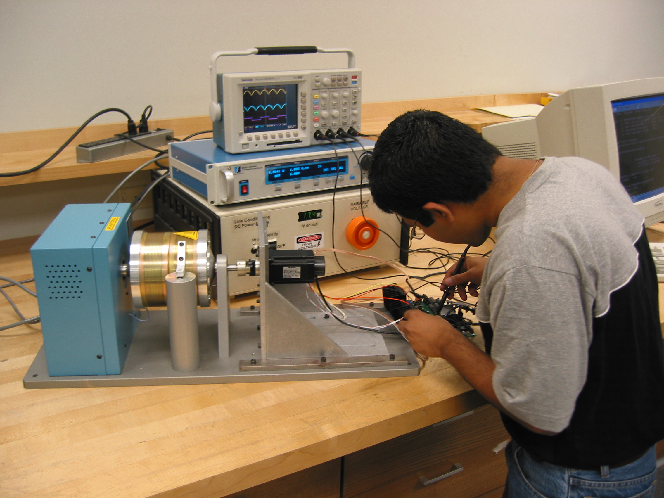 Cleveland state university embedded control systems for Controlling a stepper motor